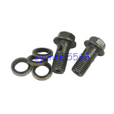 8MM Oil Cooler Brake Hose Banjo Bolt Set For 50-250CC Dirt Pit Bike ATV Quad CRF