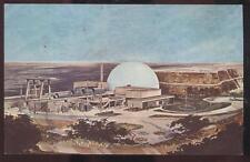 Postcard SAN CLEMENTE California/CA  San Onofre Nuclear Plant Artist Concept 60s