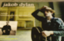 Jakob Dylan Seeing Things Double Poster Flat