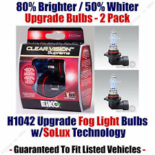 2-Pack Upgrade Fog Light Bulbs - 80% Brighter 50% Whiter - EiKO H1042 CVSU2