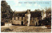 CP 02 AISNE - Chézy-sur-Marne - La Cour des Tournelles