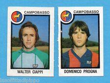PANINI CALCIATORI 1982/83 -Figurina n.394- CIAPPI+PROGNA -CAMPOBASSO-Rec
