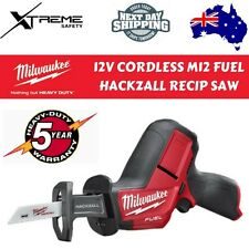 Milwaukee Cordless M12 Fuel Hackzall Reciprocating Saw Skin 12V