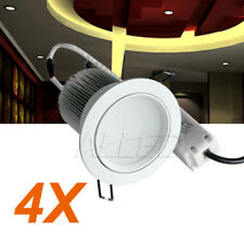 240v 13W LED Down Light Kit Warm White Chrome Spot Lamp Home/Domestic/Hotel
