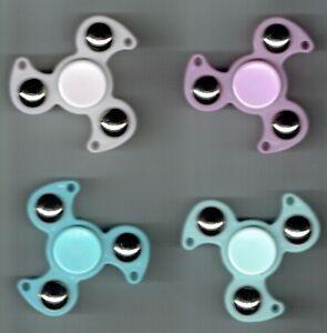 LOT 4 x JEUX SPINER à Billes NEUF trous pendentif antistress 4 x couleurs