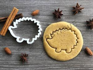Hedgehog Cookie Cutter 03 | Fondant Cake Decorating | UK Seller