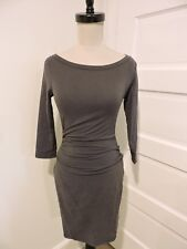 NWT $195 JAMES PERSE BOATNECK FITTED SLIM DRESS 1