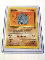 RHYHORN - Jungle Set - 61/64 - Common - Pokemon Card - Unlimited Edition - NM