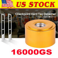16000GS Super magnetic EAS sensor tag tool for supermarket, Gold[US in STOCK]