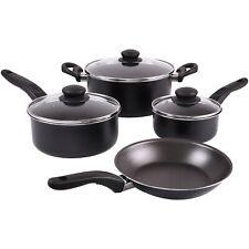 🔥5 Pcs Pots & Pans Cook Ware Set-Teflon Nonstick Professional Grade🎁2 pc Free