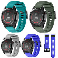 Replacement Silicagel Soft Band Strap 22MM For Garmin Fenix 5 GPS Watch