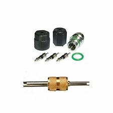 A/C AC System Valve Core and Cap + Schrader Remover Kit fit Buick Regal MT2901