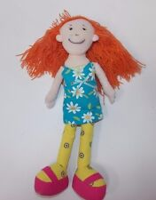 "Groovy Girls Rag Cloth Doll 13"" Orange Hair Manhattan Toys 2000"