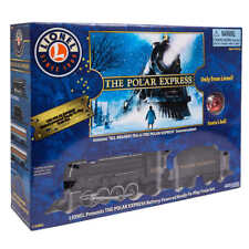 NEW Lionel Polar Express Remote Ready-To-Play Train Set Lamp Christmas 7-11803