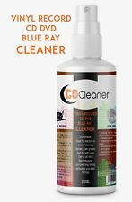 250ML PROFESSIONAL VINYL RECORD CLEANER CD DVD CLEANING FLUID SPRAY