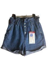 New JuniorsS.O.N.G. Paper Bag Super High Rise shorts SzM