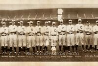 "1916 Cleveland Baseball Team Vintage Panoramic Photograph 7"" x 27"""
