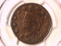 1822 Large Cent PCGS Genuine Tooled - VG Detail 36012957