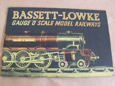 Bassett Lowke O Scale Model Trains