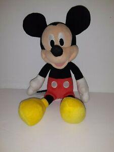 "Disney 9"" Mickey Mouse Plush Stuffed Animal Toy"