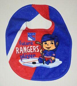 New York Rangers Baby Bib Official NHL Infant Future Rangers Hockey Player