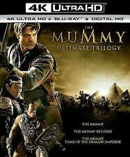 The Mummy Trilogy Collection (4K Disc, Blu-ray) NEW