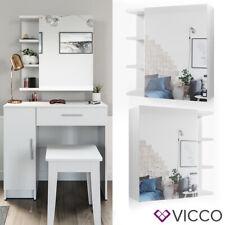 """VICCO Coiffeuse meuble de maquillage """"Fynnia"""" avec armoire de toilette"""