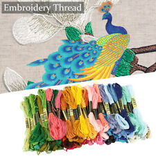 120 Colour Embroidery Thread Bobbin for Cross Stitch Line Floss Craft Storage