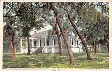 Biloxi Mississippi Jefferson Davis Home Detroit Pub Antique Postcard K13162