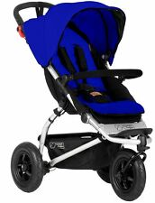 Mountain Buggy Swift 3.0 V3 Compact 3 Wheel All Terrain Stroller Marine NEW