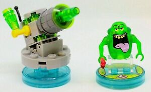 *Lego® Dimensions 71241 Slimer & Slime Shooter Ghostbusters Fun Pack Complete👾