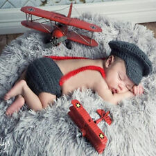 HOT-Newborn-Baby-Girls-Boys-Crochet-Knit-Costume-Photo-Photography-Prop-Outfits