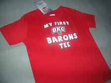 OKLAHOMA CITY BARONS KIDS HOCKEY T-shirt SIZE 2 NWT