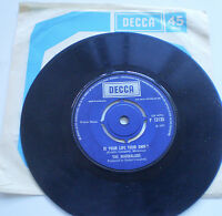 """THE MARMALADE  7""""45 - MY LITTLE ONE b/w IS YOUR LIFE YOUR OWN?  1971 - DECCA UK"""
