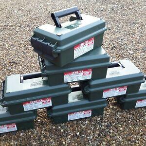 MTM CASE-GARD EMPTY AMMO CAN AC30C AMMO BOX SPORTING GEOCACHING DRY STORAGE BOX