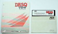DESQview 1.02 by Quarterdeck Office Systems Software AST Research Inc IBM PC