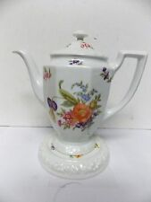 Rosenthal Germany Classic Rose  Maria Coffee /Teapot Server w/ Tea Tile Rest