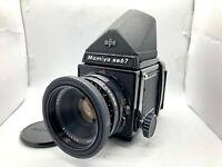 【NEAR MINT】 Mamiya RB67 Pro + Sekor 127mm F3.8 Lens + 120 Film Back From JAPAN