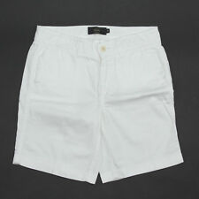 "J Crew Sunday Slim Chino Short Sz 00 White 100% Cotton Walking Bermuda 7"" inseam"