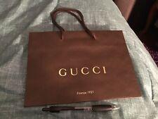 Gucci Brown Gift Bag Shopping Bag Small Gg Monogram