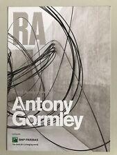 ANTONY GORMLEY, Promotional flyer, Royal Academy Of Arts, London, 2019