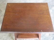 Ancienne petite table d'appoint salon table basse déco chalet montagne brocante