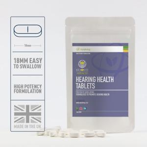 Biovit Hearing Health Tablet, Ginkgo Biloba, Magnesium, Selenium, 60 Tablets