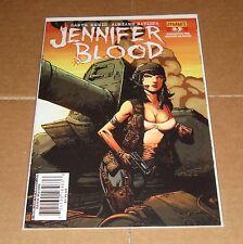 Jennifer Blood #3 Johnny Desjardins Variant Edition 1st Print Garth Ennis