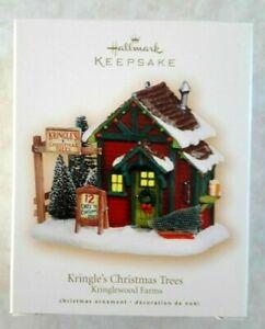 HALLMARK KEEPSAKE ORNAMENT Kringlewood Farms Kringles Christmas Trees