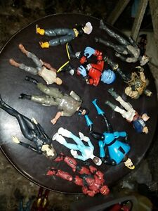Various MIXED CHARACTER Action Figure Lot FODDER
