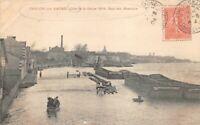 CHALON-sur-SAÔNE - Crue de la Saône 1904, Quai des abattoirs