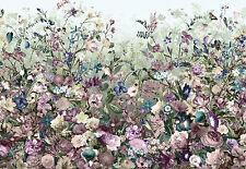Komar Vlies Fototapete Wandbild XXL4-035 BOTANICA Floral Blumen bunt 368 x 248cm