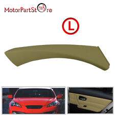 Beige Left Inner Door Panel Handle Outer Cover Trim For BMW 3-Series E90 2004-12