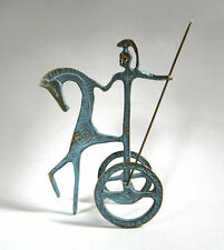 Modernist Collectable Brass Figures & Models